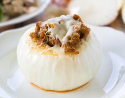 Italian Sausage Stuffed Onions Recipe