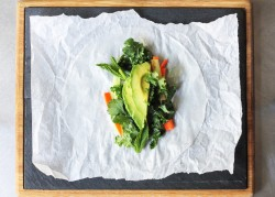 Kale Carrot and Avocado Wraps Recipe