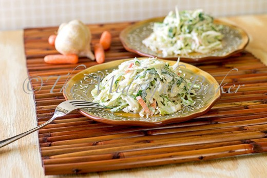 Kicked-Up Coleslaw
