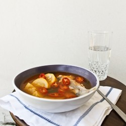 Korean Style Fish Soup Recipe