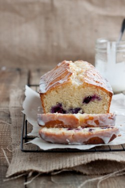 Lemon Blueberry Drizzle Loaf