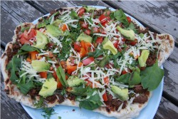 Mexican BBQ Pizza Recipe