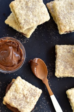 Nutella Shortbread Sandwiches Recipe