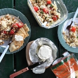Orzo Caprese Salad Recipe