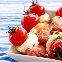 Parma Ham Goat Cheese Skewers Recipe