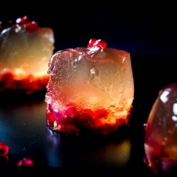 Pear Cider Jelly with Pomegranate Recipe