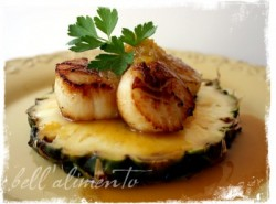Pineapple Fusion Scallops