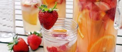Strawberry Rhubarb Sangria Recipe