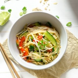 Vegan Satay Noodles Recipe