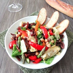 Vegetarian Antipasto Salad Recipe