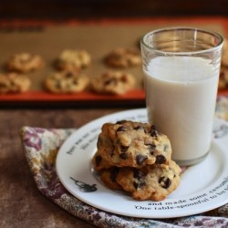 Almond Milk Chocolate Chip Cookies Recipe