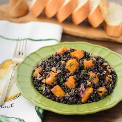 Black Rice with Butternut Squash Recipe