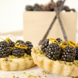 Blackberry Orange Tartlet Recipe