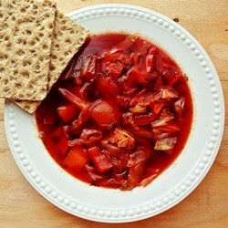 Borscht Russian Beet Cabbage Soup Recipe