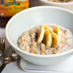 Breakfast Risotto with Ginger and Pears Recipe