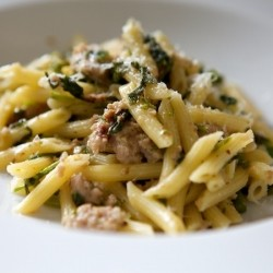 Broccolini and Sausage Pasta
