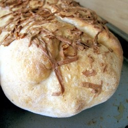 Camembert Cheese and Chicken Stuffed Bread