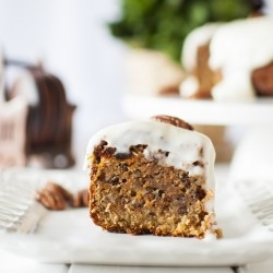 Carrot Cake with Bananas and Pecans Recipe