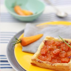 Carrot Honey Ginger Tarts Recipe