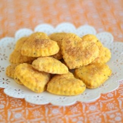 Cheese and Carrot Crakers