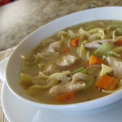 Chicken Noodle Soup by a Teenager