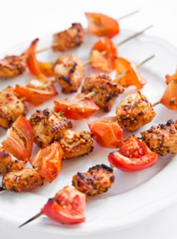 Chicken Tomato Skewers Recipe