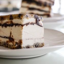 Chocolate Chip Cookie Dough Ice Cream Sandwiches Recipe