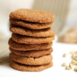 Double Ginger Molasses Cookies Recipe
