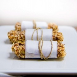 Doughy Honey Coconut Granola Bars Recipe