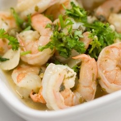 Drunken Shrimp in White Wine