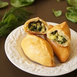 Egg and Spinach Buns