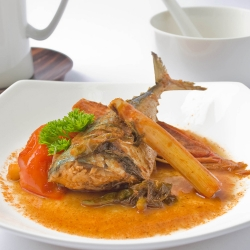Fish in Tom Yam Sauce