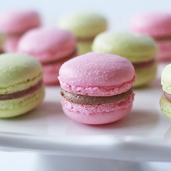 French Macarons with Nutella Filling Recipe
