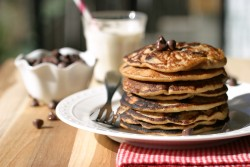 Gluten Free Chocolate Chip Pancakes Recipe