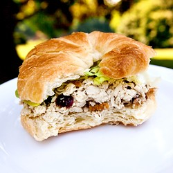 Honey Pecan Cranberry Chicken Salad Recipe