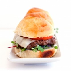 Lamb Burger Sliders with Sriracha Mayo Recipe