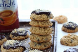 Oatmeal Chocolate Hazelnut Cookies Recipe