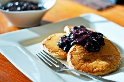 Pancakes with Blueberry