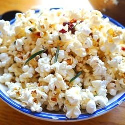 Pancetta and Rosemary Popcorn