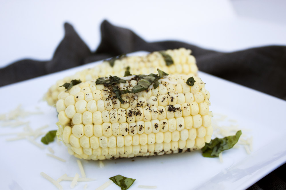 Parmesan Garlic Corn on the Cob Recipe
