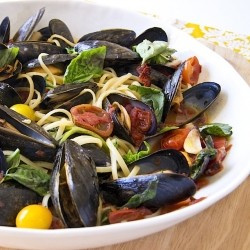 Pasta With Mussels Recipe