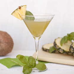 Pineapple Basil Cocktail Recipe