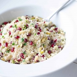 Pomegranate Pistachio Pine Nut Couscous Recipe
