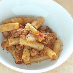 Pork and Fennel Ragu with Rigatoni