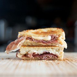 Prosciutto Gouda Grilled Cheese Sandwich Recipe