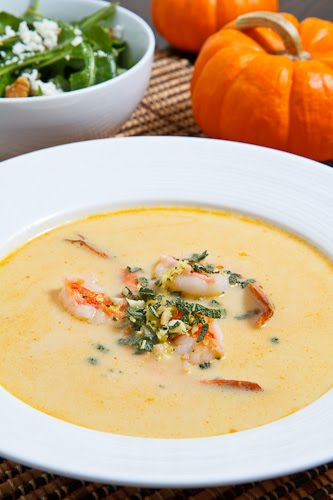 Pumpkin Shrimp Bisque