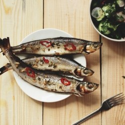 Quick Hot Roasted Fish Jamie Oliver Recipe