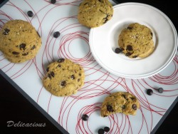 Salted Coffee Chocolate Chip Cookies Recipe