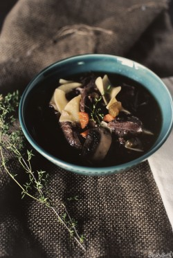 Slow Cooker Beef and Noodle Soup