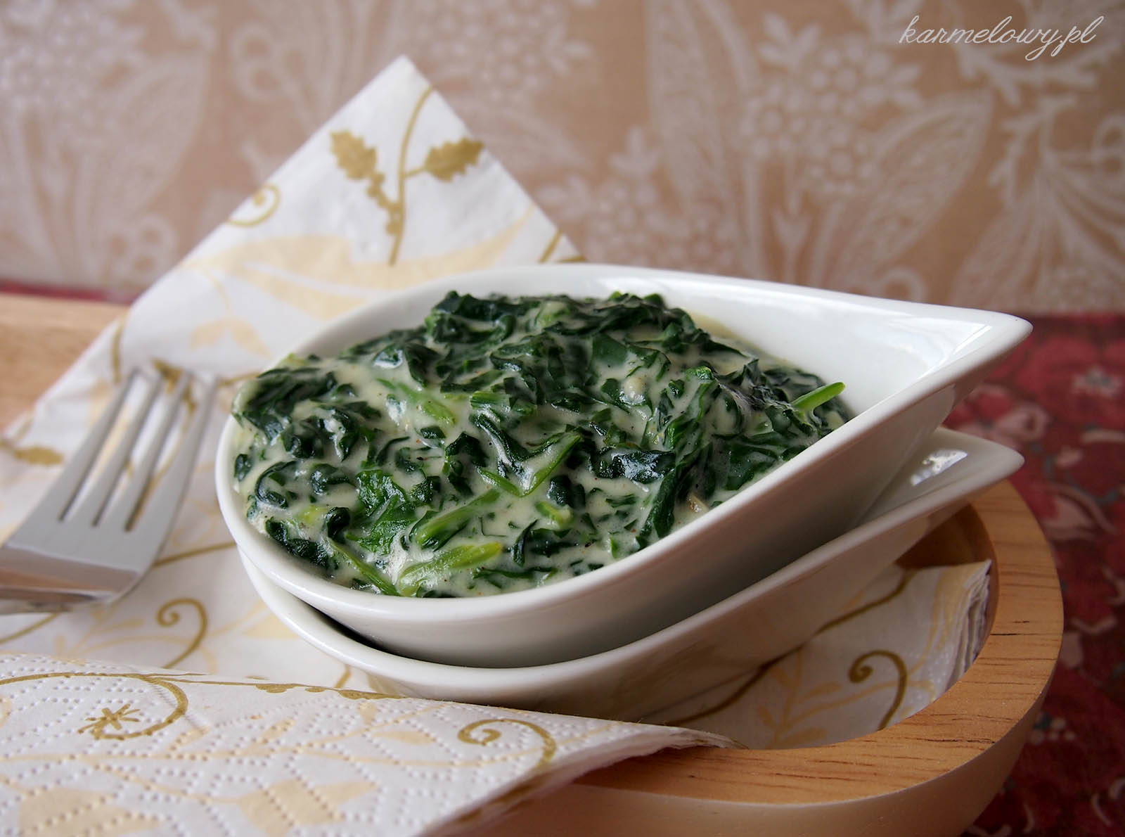 Spinach and White Sauce Nigel Slater Recipe